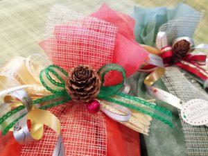 京のつつみ屋小箱クリスマスラッピング